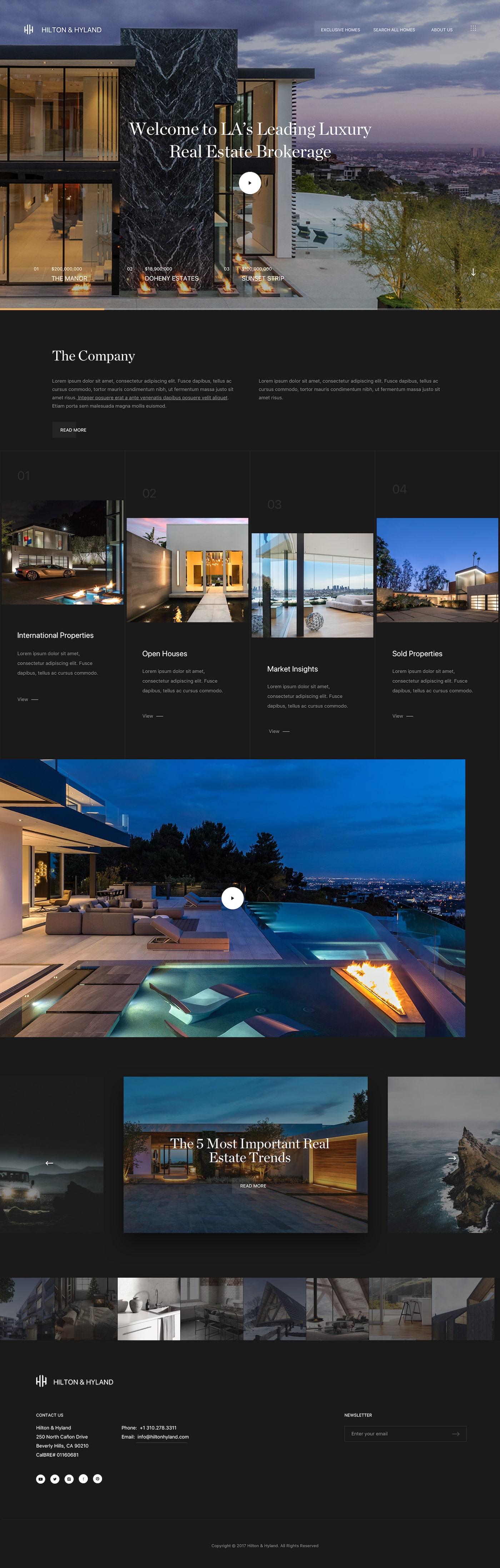 Luxury Presence Award Winning Real Estate Websites Marketing